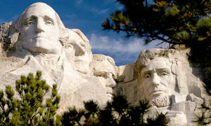 Mount Rushmore en Crazy Horse Tour