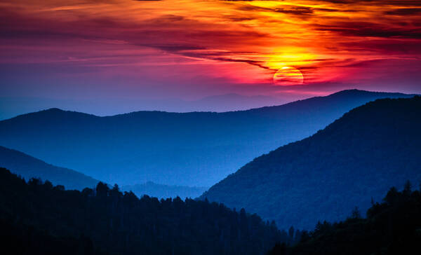 Morton Overlook, Great Smoky Mountains National Park