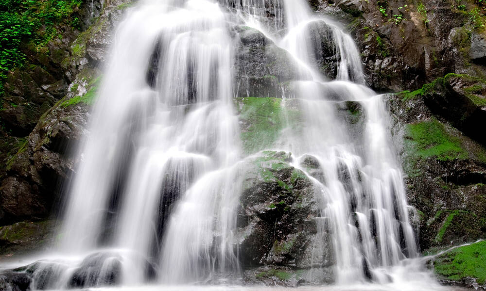 Laurel Falls in Great Smoky Mountains National Park