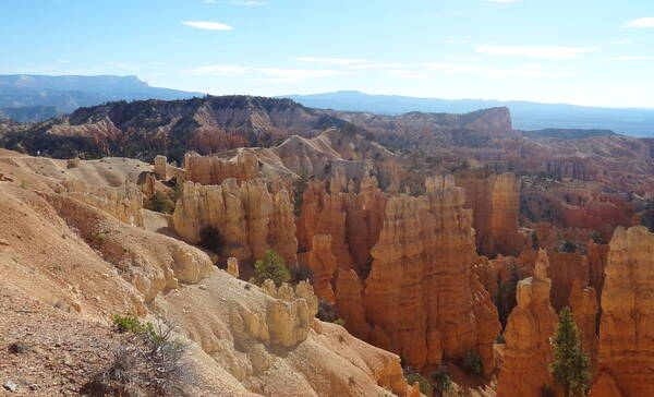 Fairyland Point, uitzichtpunt in Bryce Canyon