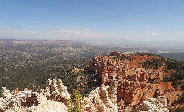 Rainbow Point, uitzichtpunt in Bryce Canyon