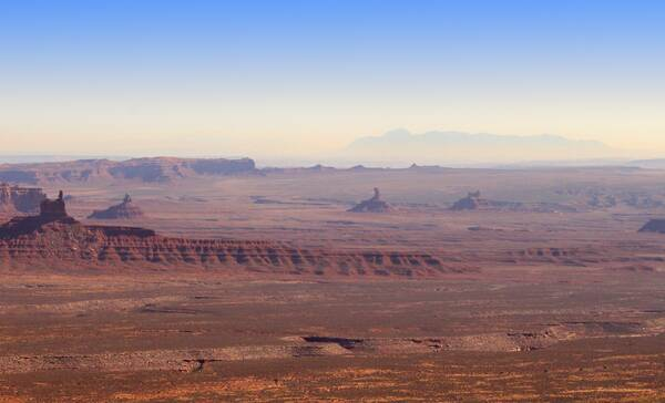 Valley of the Gods nabij Mexican Hat