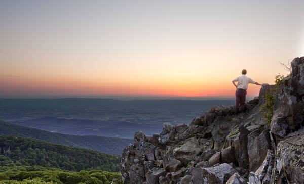 Stony Man in Shenandoah NP in Virginia
