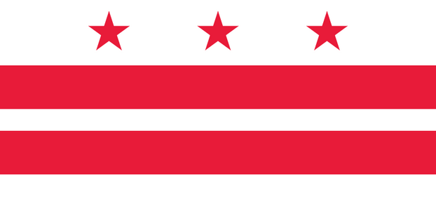 Vlag District of Columbia