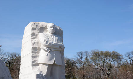 martin luther king monument