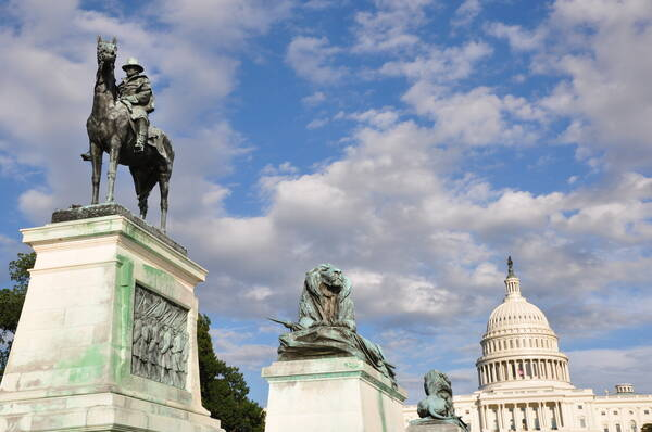 Ulysses S. Grant Memorial in Washington DC