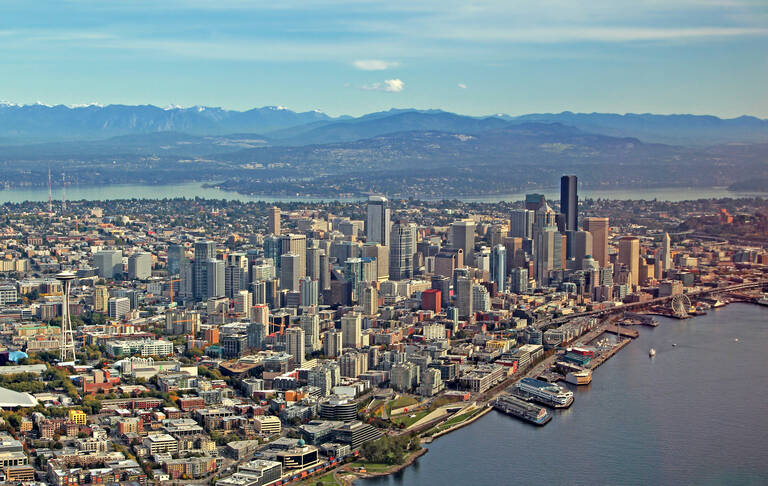 Seattle luchtfoto