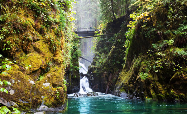 Sol Duc Falls, Olympic National Park Washington