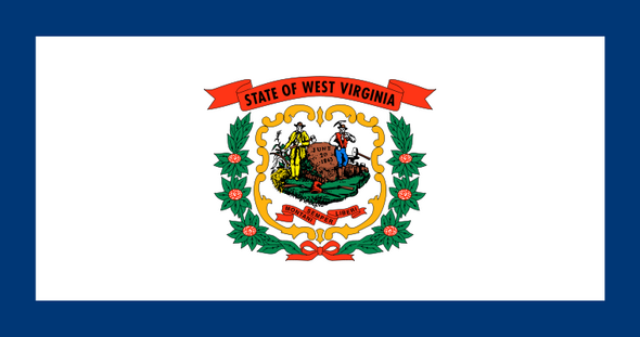 Vlag West Virginia