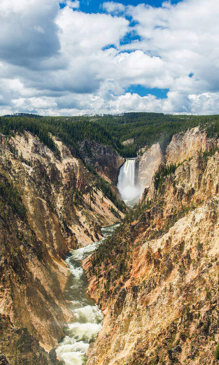 Yellowstone Canyon, Artists Point, Wyoming