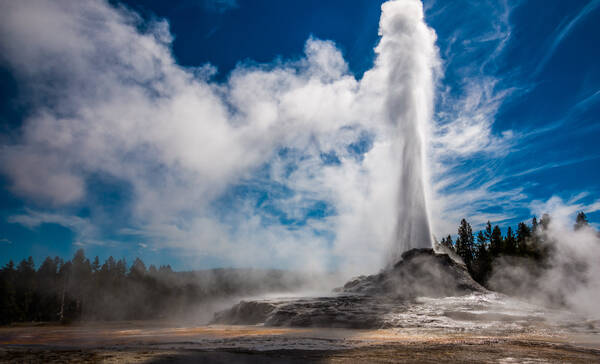 Yellowstone National Park Geyser Country