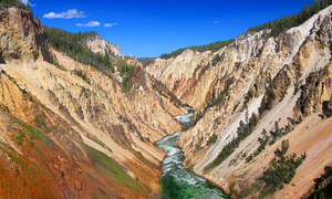 The Grand Canyon of the Yellowstone.