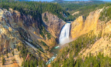 De Grand Canyon of the Yellowstone