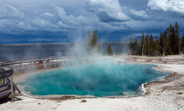 Yellowstone National Park Lake Country