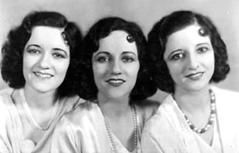 Boswell Sisters 1931