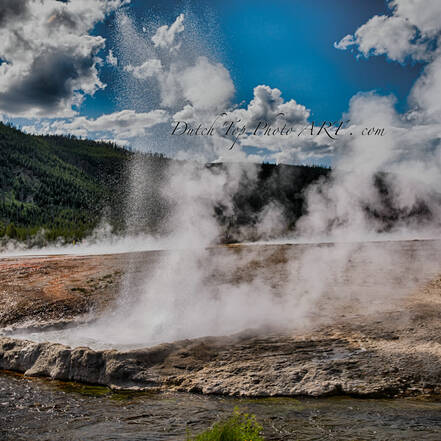 Yellowstone National Park, geiser