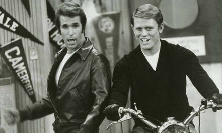 happy days tv-serie fifties