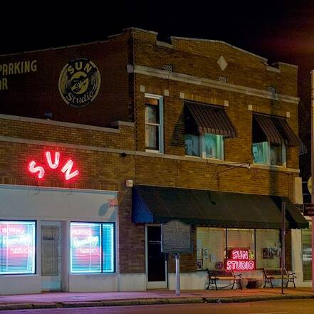 Sun Records Studio, Memphis Tennessee, public domain, by Carol M. Highsmith