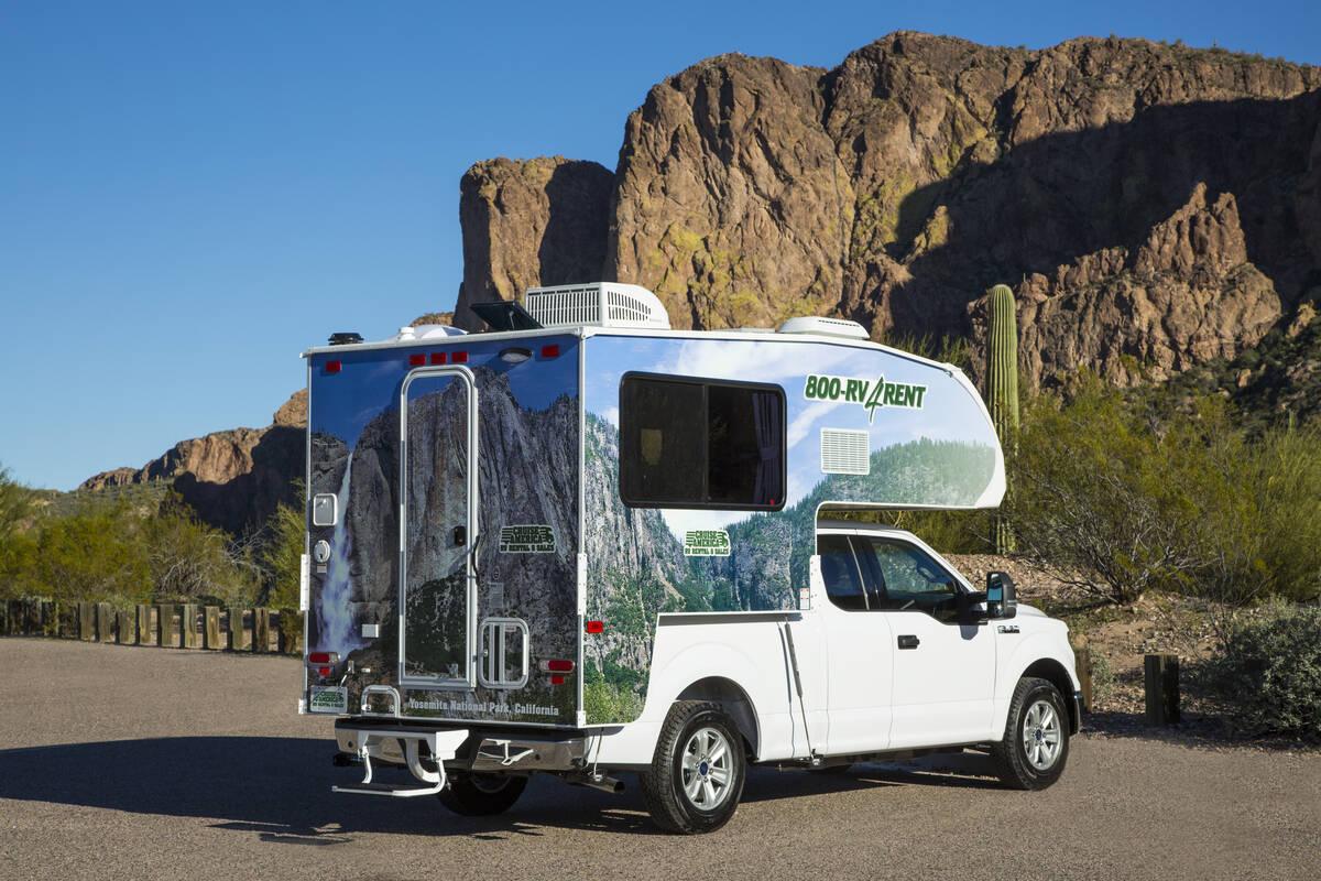Truck Camper 17 Ft Van Cruise Canada Tioga Tours