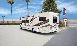 El Monte RV familie-camper FS-31 slide-out