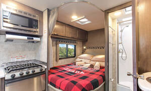 Four Seasons familie-camper C-Large slide-out