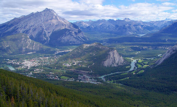 Sulphur Mountain Gondola, Banff National Park