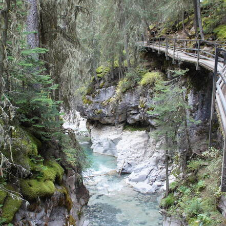 Banff, Johnston Canyon Trail
