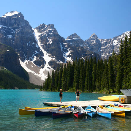Banff National Park, Moraine Lake