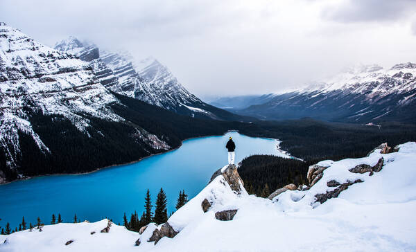 Wintersport Banff National Park
