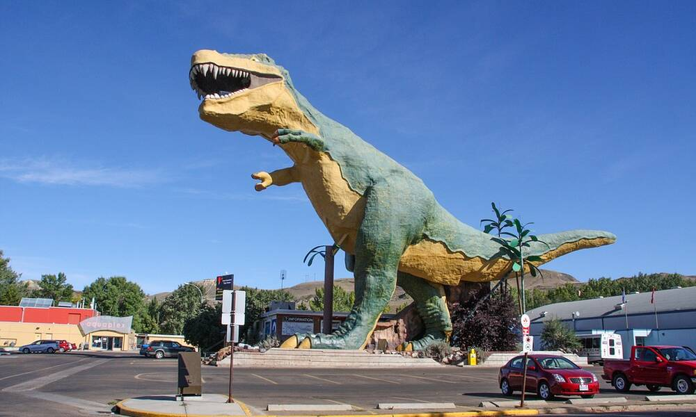 The World's Largest Dinosaur, Drumheller