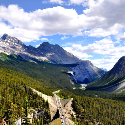 Banff National Park, Icefields Parkway