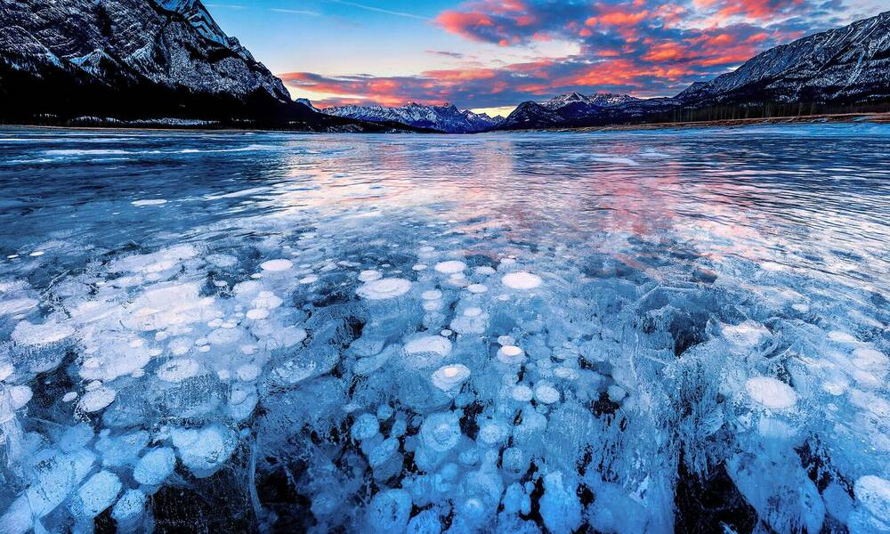 Abraham Lake in Jasper