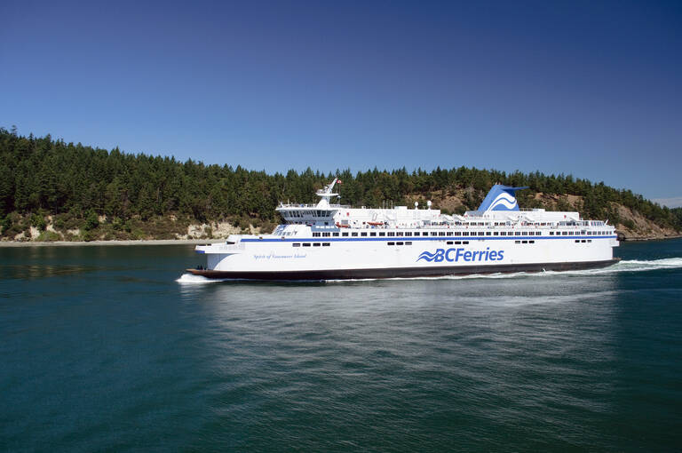 BC Ferries, Inside Passage