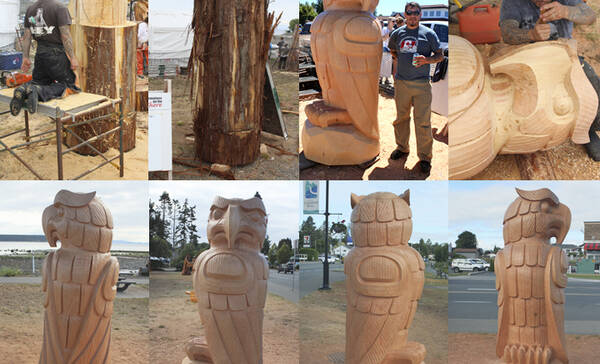Chainsaw Carvings in Campbell River