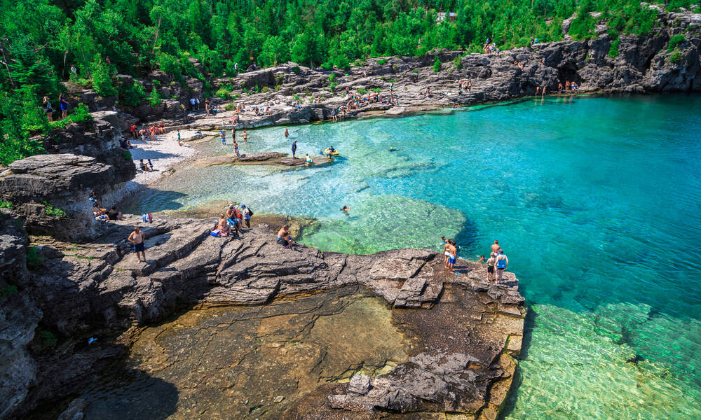 Oost-Canada Bruce Peninsula National Park