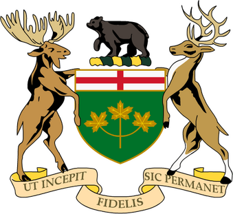 Coat of Arms Ontario