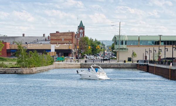 Collingwood Harbour Ontario