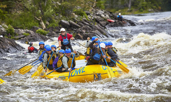 The Owl Rafting, Ottawa. Credit: Owl Rafting On The Ottawa River