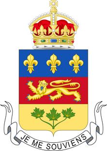 Coat of Arms Québec