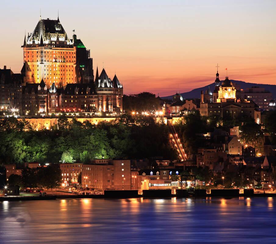 City Tour Quebec Canada