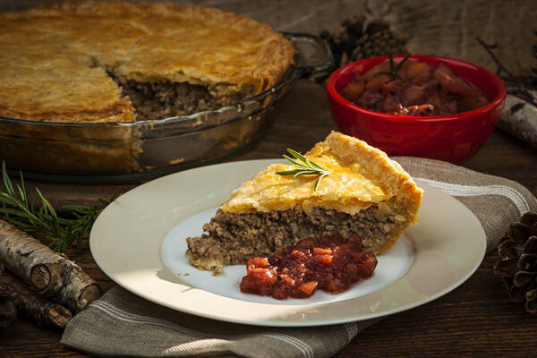 Tourtiere in Canada