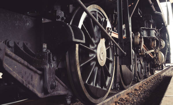 Historic Railway locomotief