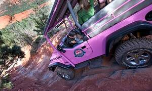 Pink Jeep Broken Arrow Tour