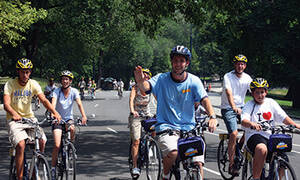 Fietstocht door Central Park New York