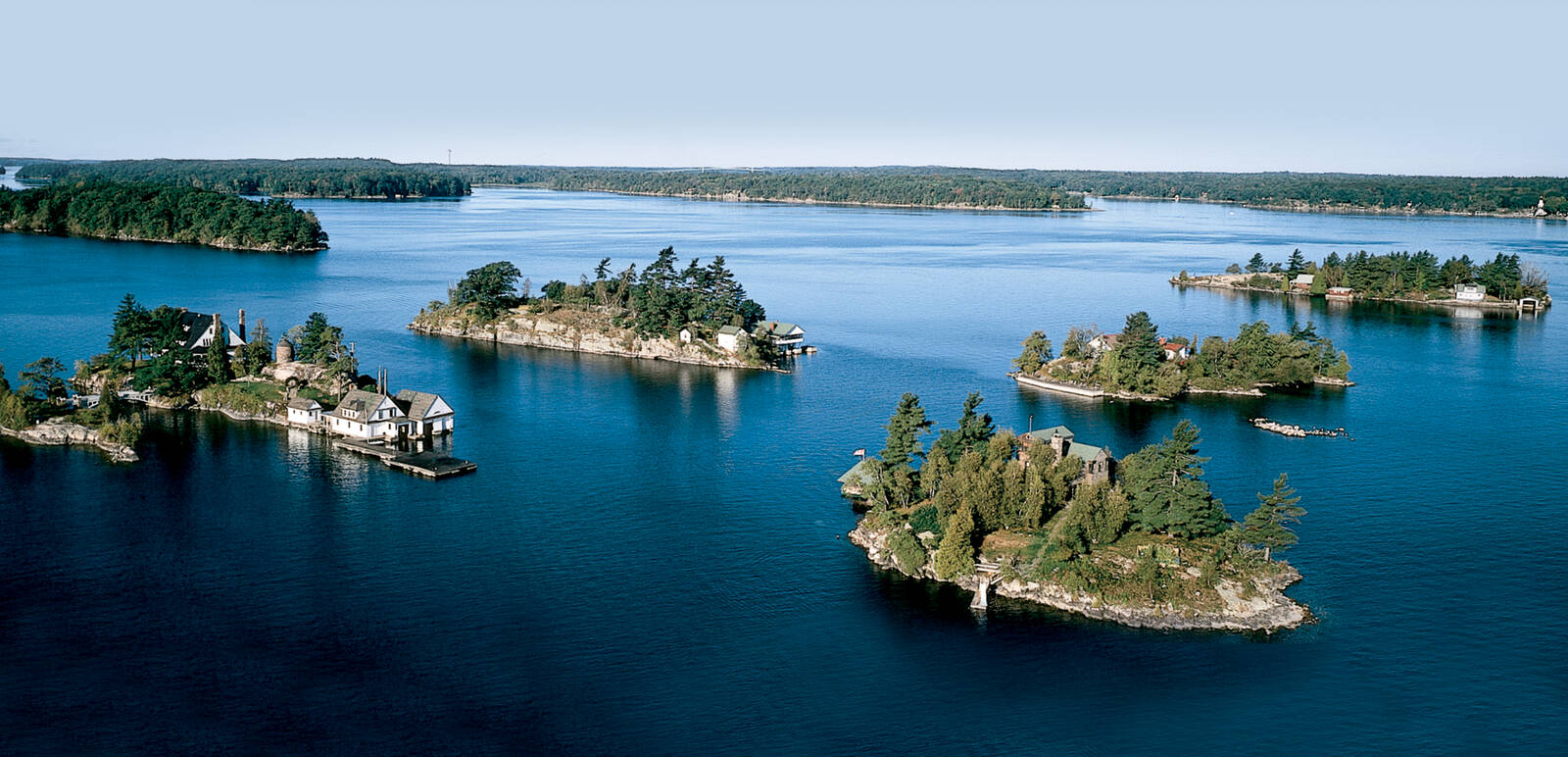 how to get to the islands 1000 islands