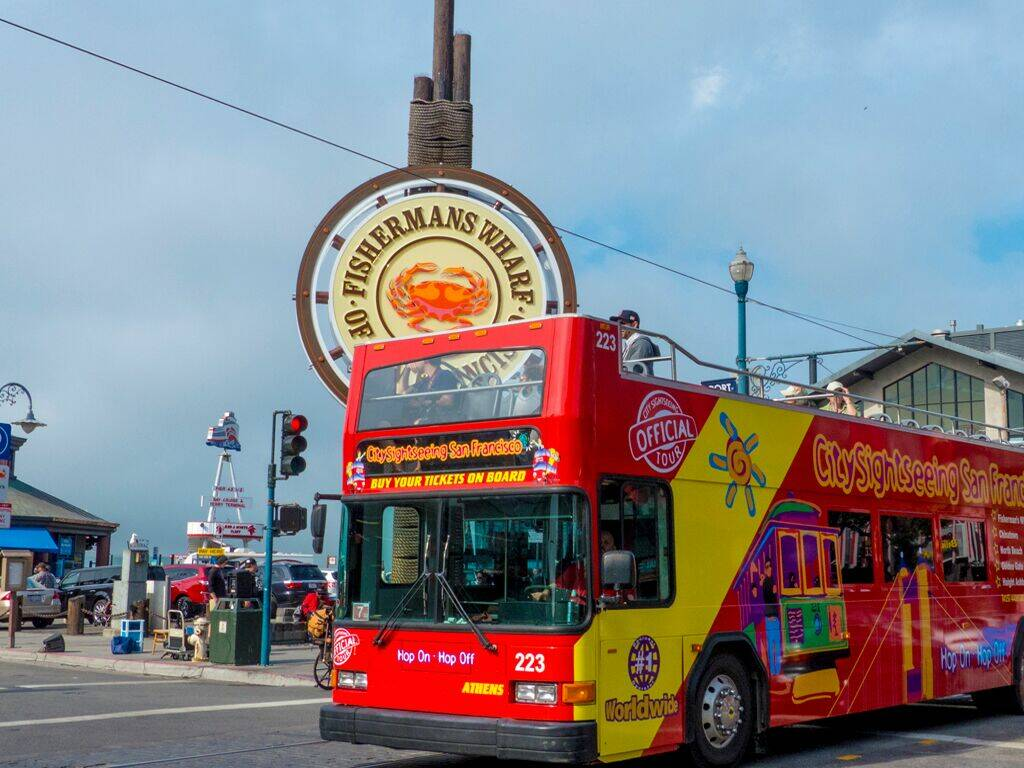 Hop On Hop Off Tours San Francisco Ca