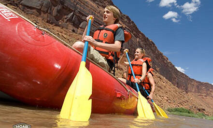 Colorado River Rafting, Moab