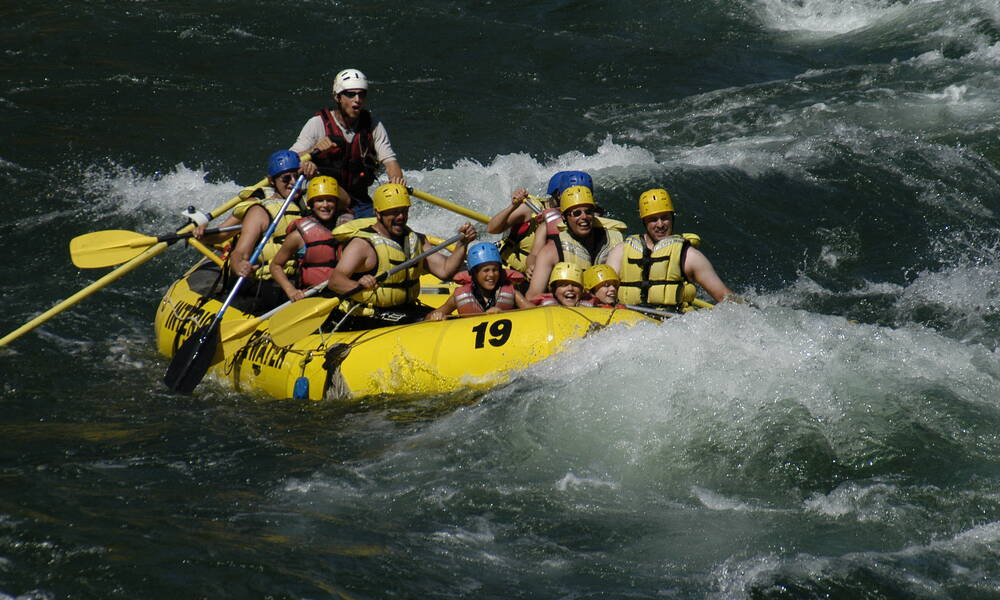 Family Friendly Rafting, Clearwater