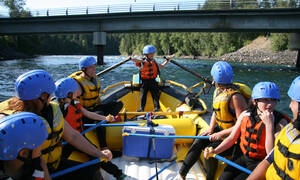 Family friendly rafting Clearwater Canada