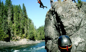 raften clearwater river excursie west-canada